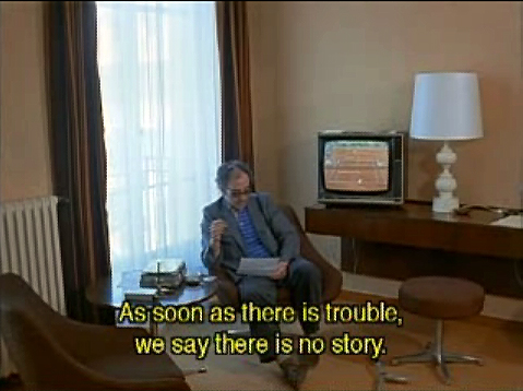 Godard in Wender's Room 666