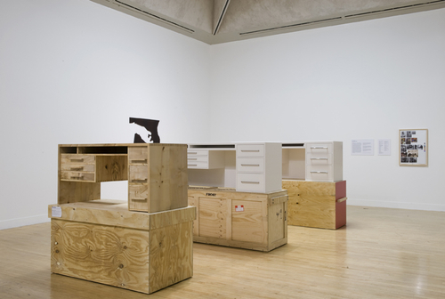 Simon Starling - Three White Desks