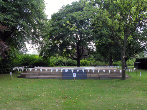 Empty Stage - Botanical Gardens - Tim Etchells
