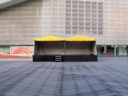 Empty Stage - Rotterdam