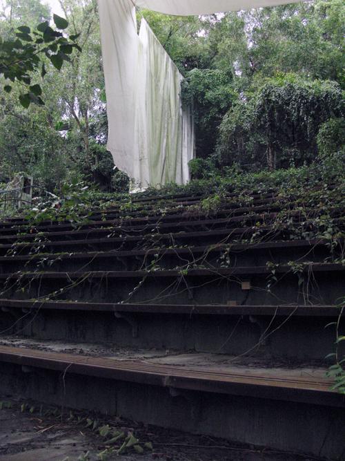 Haw Par Villa, Singapore. Overgrown Amphitheatre.