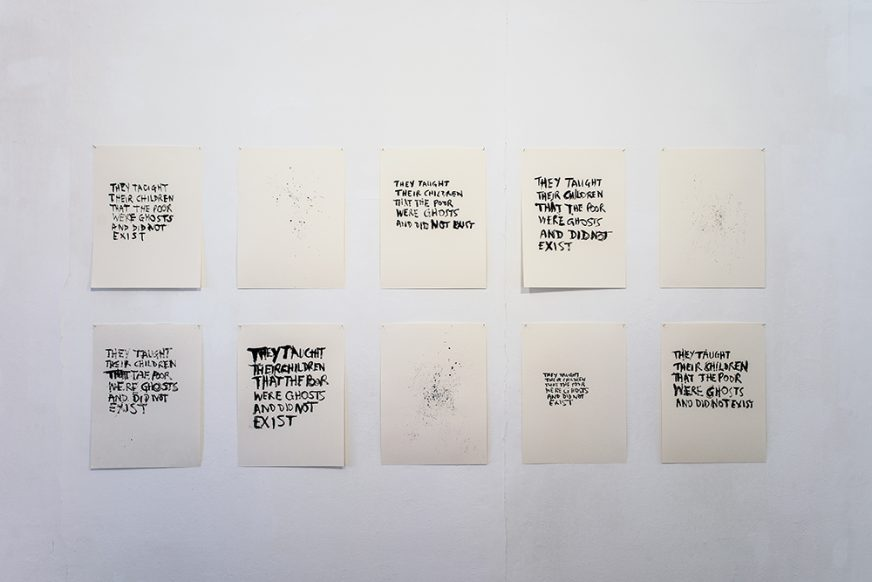 Ghosts-Tim-Etchells-Series-of-Drawings-2015-Image-Don Moore-Courtesy-of-the-Artist 1