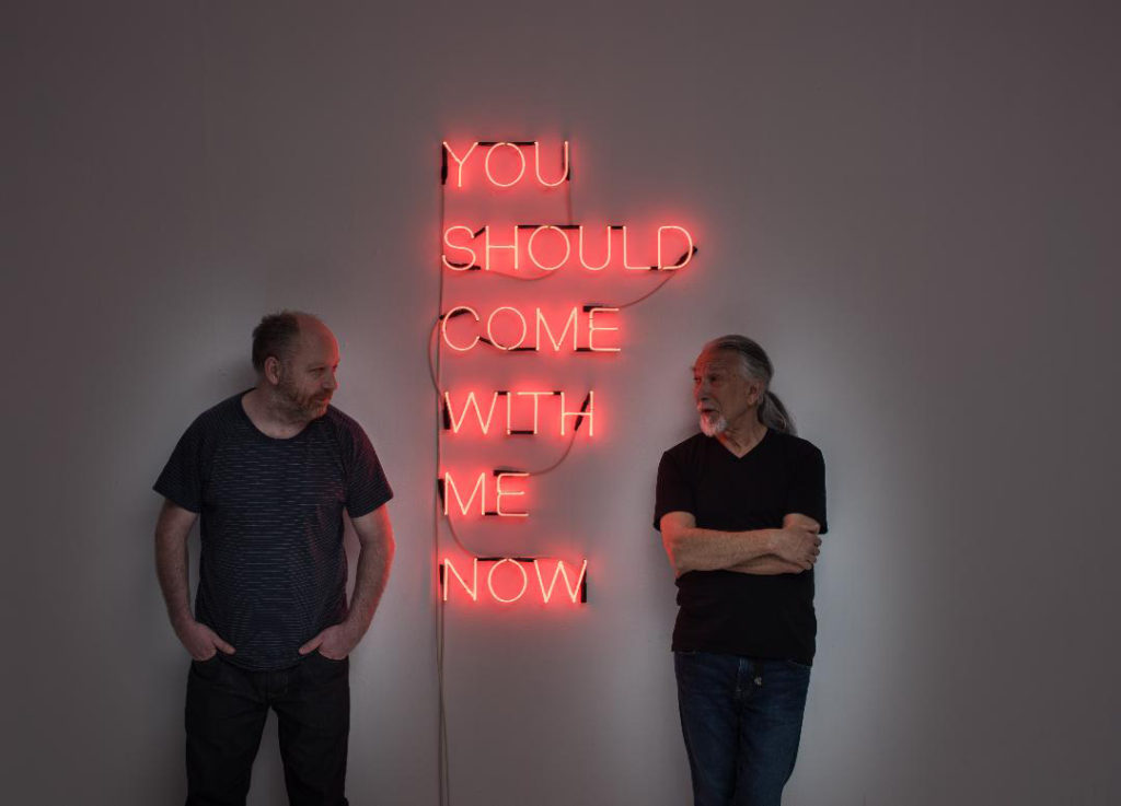 You-Should-Come-With-Me-Now-Neon-2017-Tim-Etchells-pictured-with-Mike-Harrison-(R)-and-Tim-Etchells-(L)-Image-Hugo-Glendinning