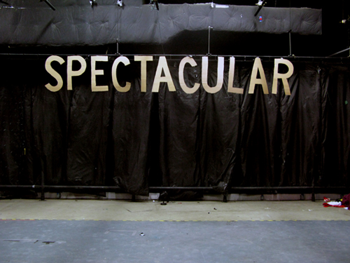 Spectacular - Forced Entertainment - Sign