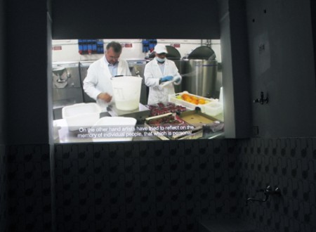 Art Flavours Video Installed Rovereto